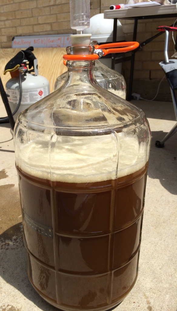 Depthcharge ready for fermentation