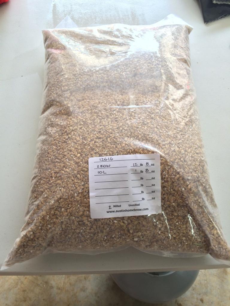 Fresh Hop Cascade IPA Grain Bill