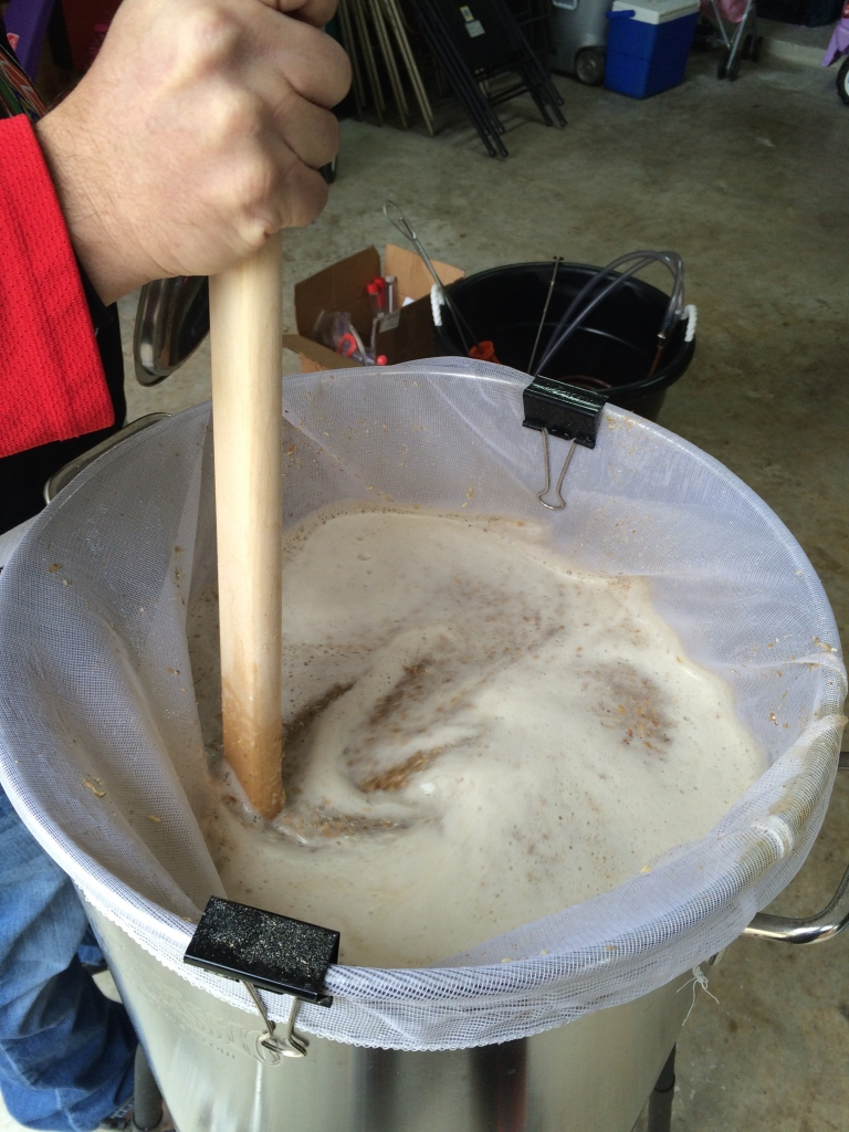 El Dorado Double IPA Mash In